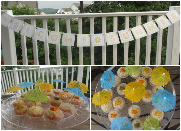 welcome-summer-cupcakes-banner-collage