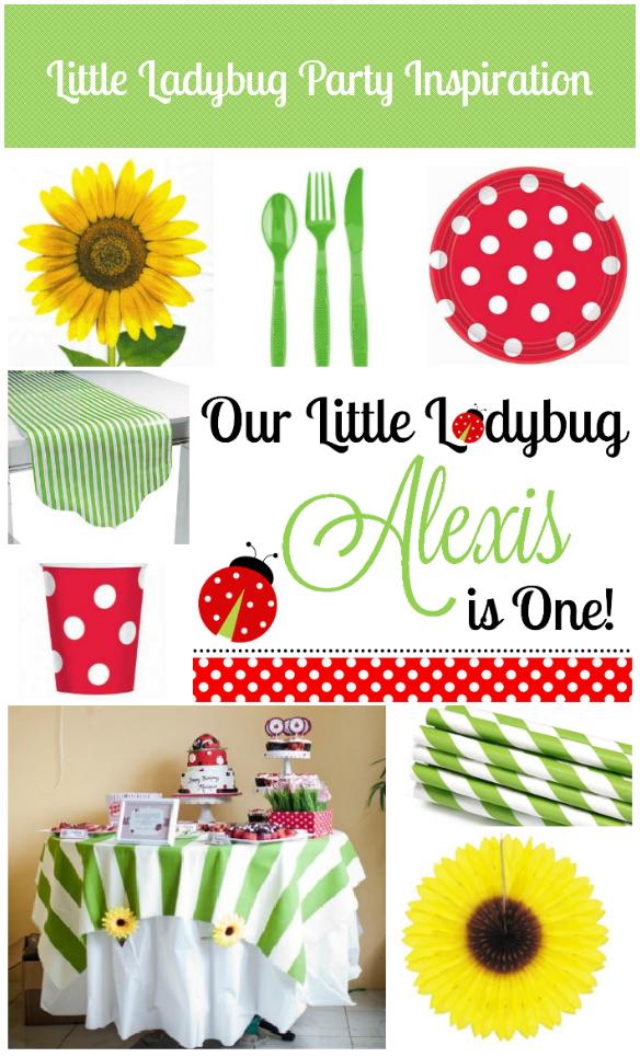 Little Ladybug Party Inspiration Board by One Stylish Party