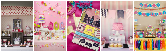 Modern Girly Parties With a Boy Theme