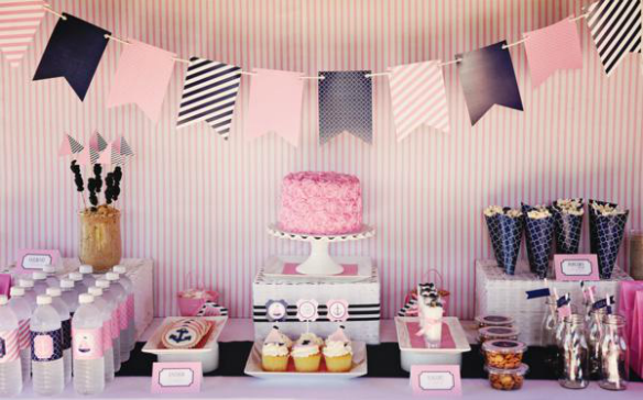 Preppy Nautical Party – Sweet Peach Paperie