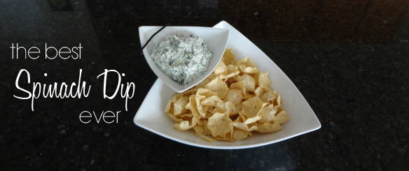 The Best Spinach Dip Ever via One Stylish Party
