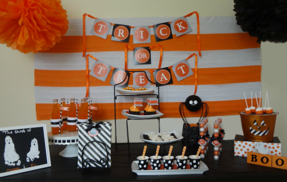 Classically Chic Halloween Party by One Stylish Party