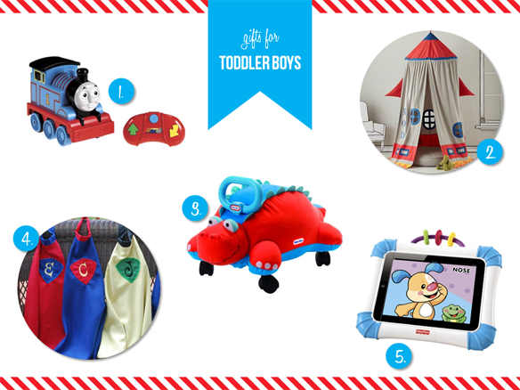 Toddler Boys Holiday Gift Guide via One Stylish Party