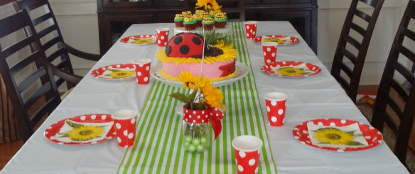 Little Ladybug First Birthday Party by One Stylish Party