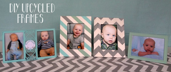 DIY Upcycled Frames via One Stylish Party
