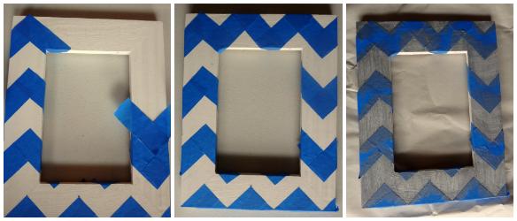 DIY Upcycled Frames via One Stylish Party
