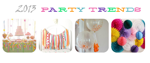2013 Party Trends – Feature Image – One Stylish Party