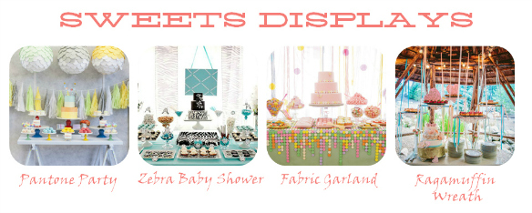 2013 Party Trends – Sweets Displays – One Stylish Party