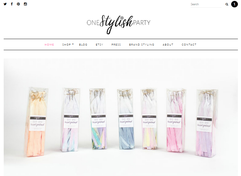 one-stylish-party-home-page-3