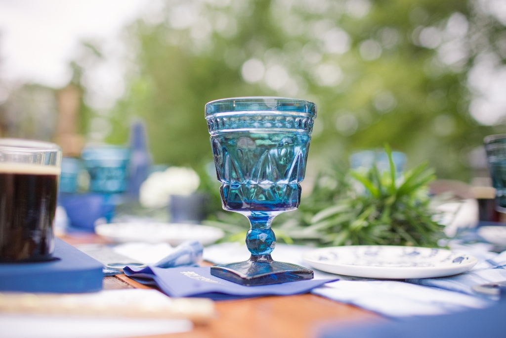blue-vintage-glassware-one-stylish-party
