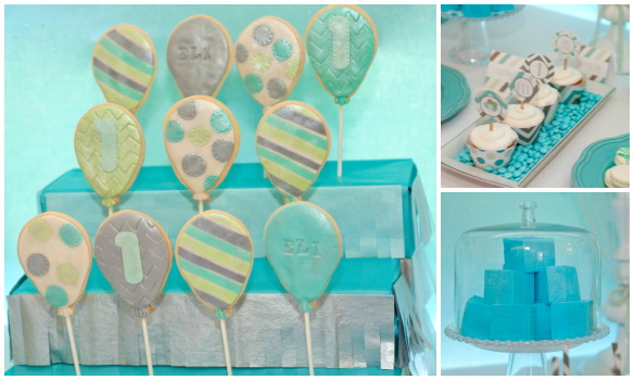 Up Up And Away Balloon Cookies Desserts Marshmallows