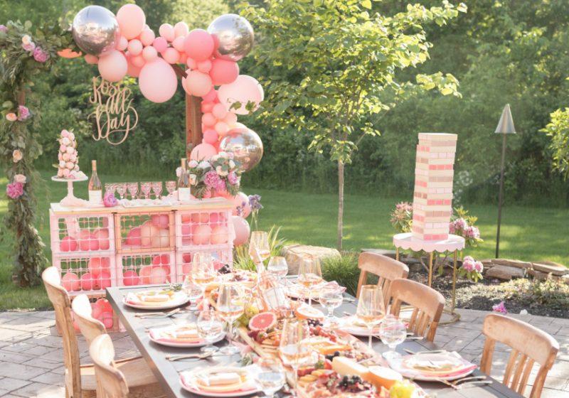 a12a74bc0bb90 Rosé Alfresco Dinner Party