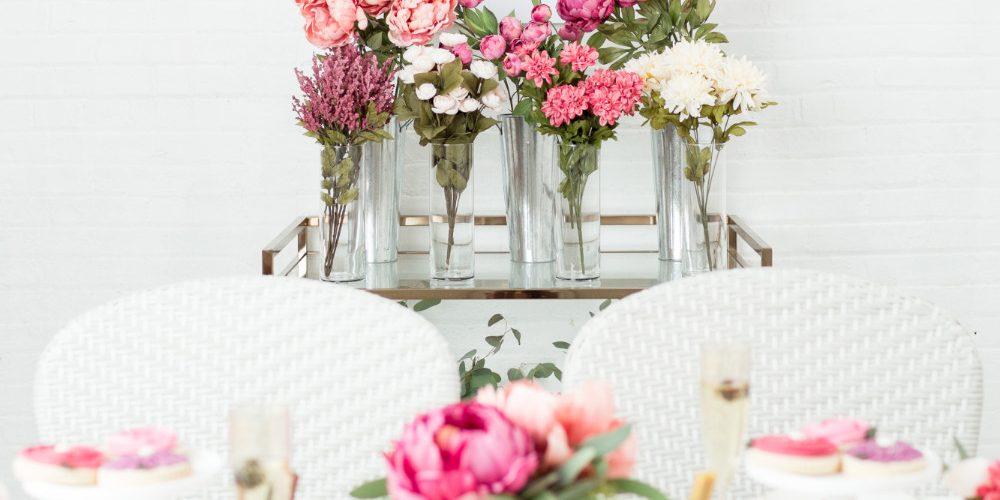 Love is Blooming DIY Bridal Shower with Michaels Weddings