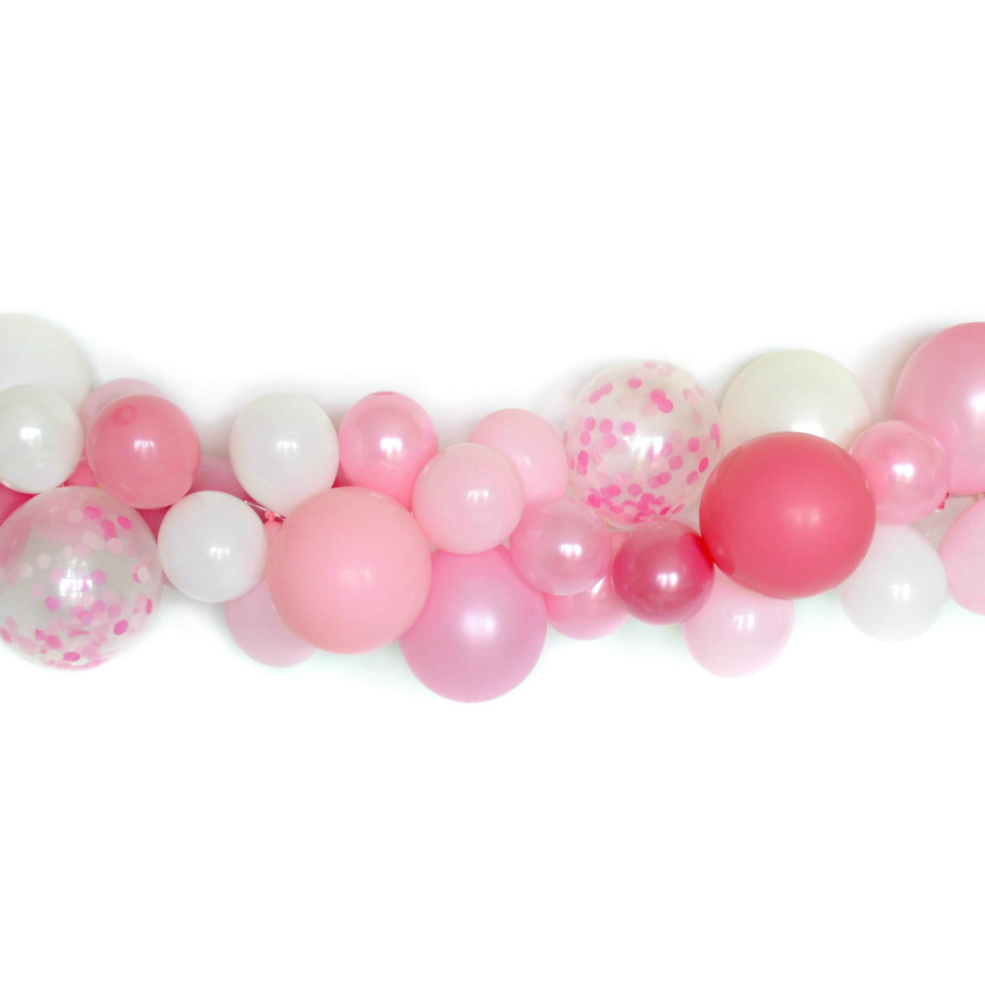Diy Balloon Garland Kit Pink Peony