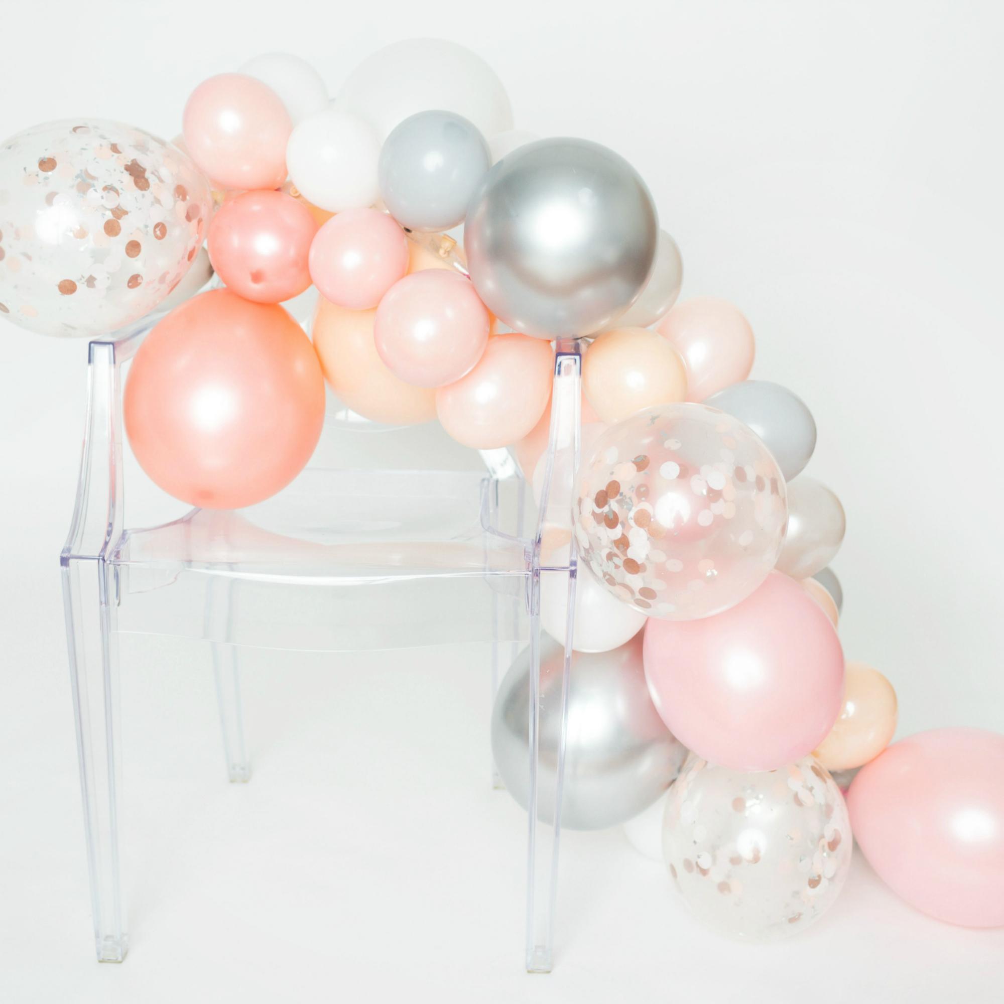 Diy Balloon Garland Kit Prosecco