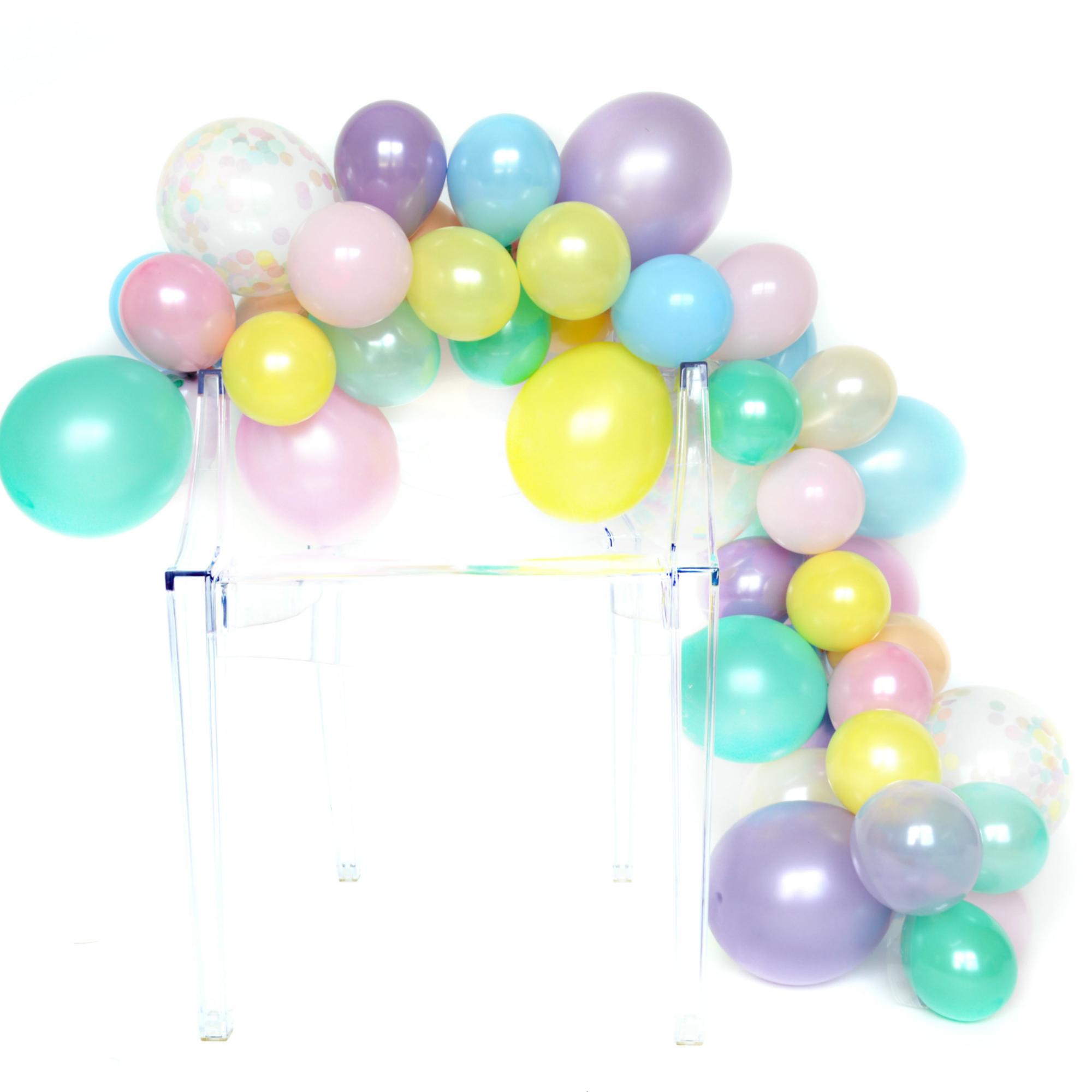 Diy Balloon Garland Kit Unicorn Rainbow