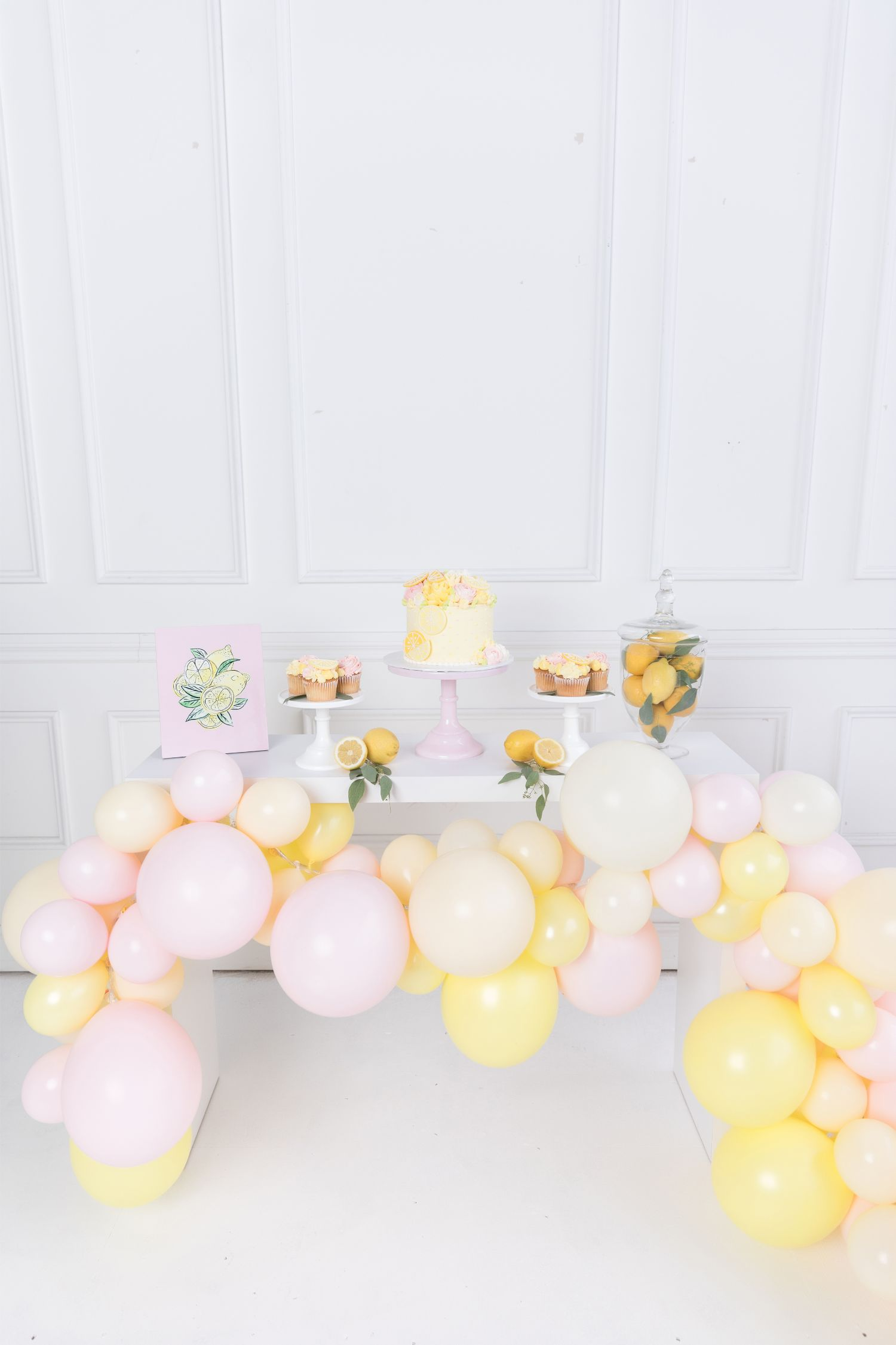 Pastel Lemonade Stand Party